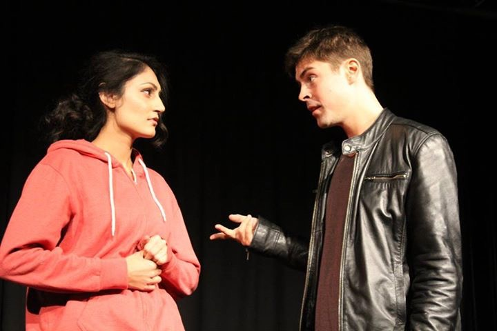 Production photo of Briefs 14 at Waterloo East Theatre featuring Sheetal Kapoor