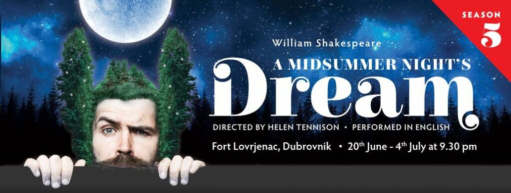 Poster of A Midsummer Night's Dream 2018 in Dubrovnik