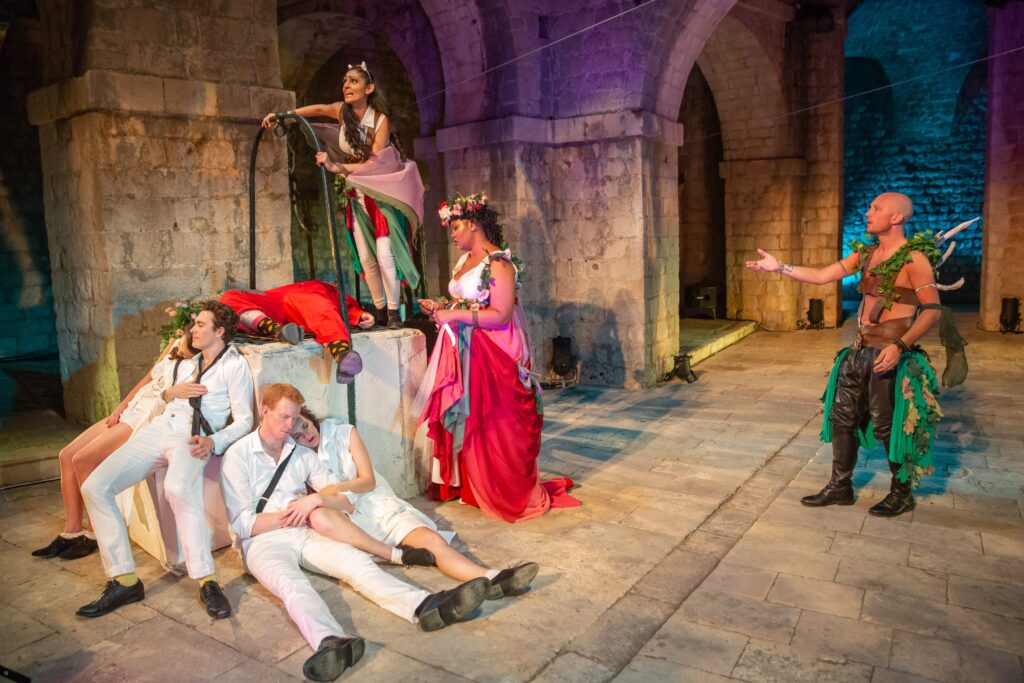 Production Photo of A Midsummer Night's Dream 2018 at Fort Lovrijenac featuring Sheetal Kapoor