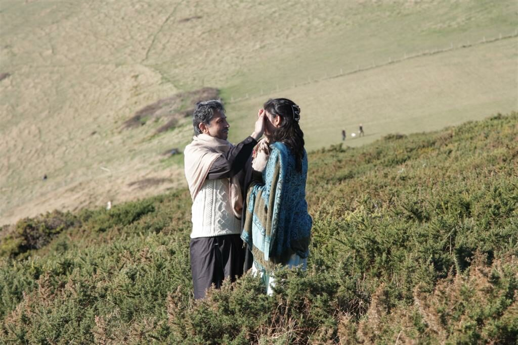 Still of Rukhsati short film featuring Sheetal Kapoor and Javed Khan
