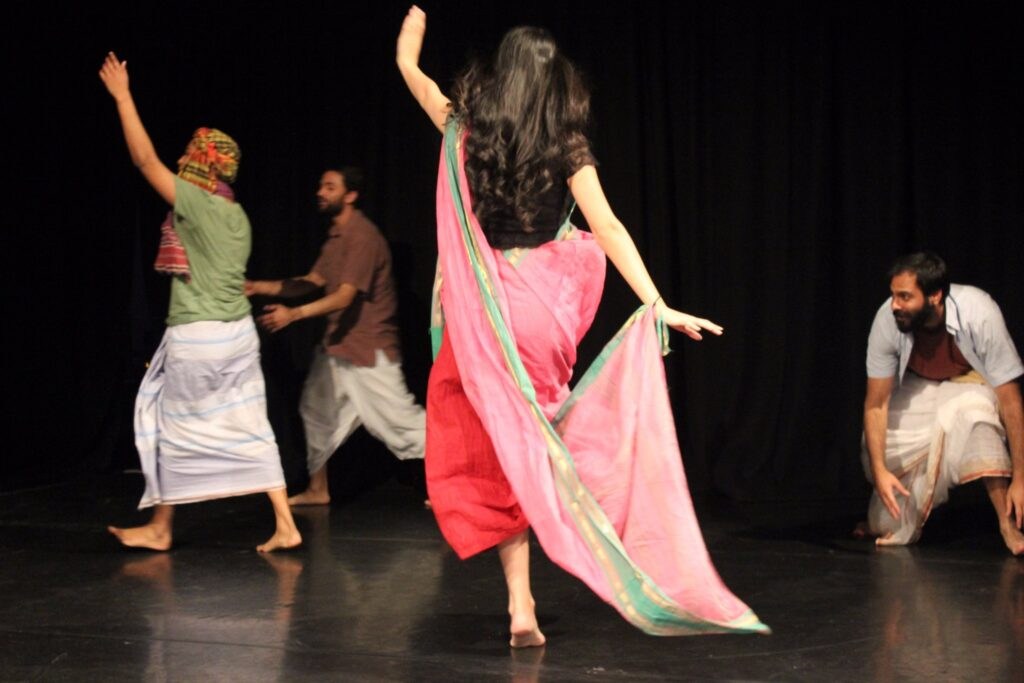 Production photo of Silent Sisters-Brothers Unhinged by Sohaya Visions and Mukul and Ghetto Tigers featuring Sheetal Kapoor