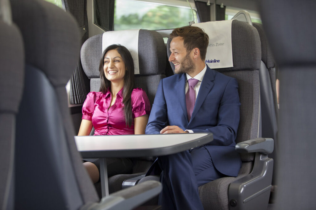 Still photography for Chiltern Railways featuring Sheetal Kapoor and Amir Heath