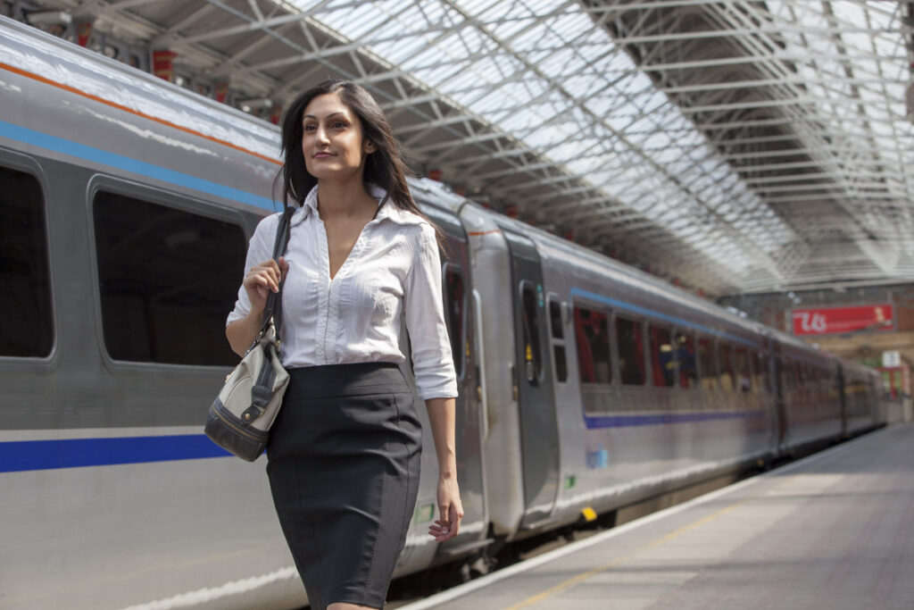 Still photography for Chiltern Railways featuring Sheetal Kapoor