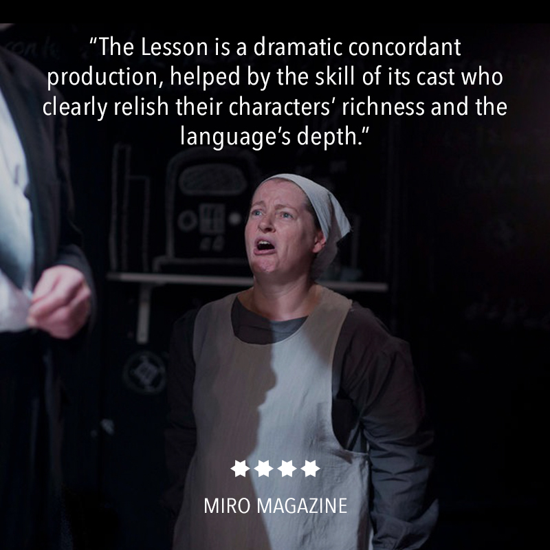 Review of The Lesson at The Hope Theatre