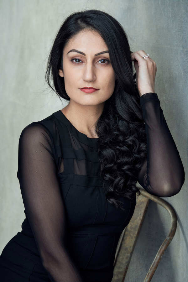 Sheetal Kapoor BAME Actress represented by VJ Management photograph taken by Kim Hardy Photography